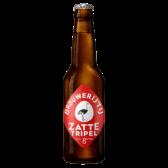 Brouwerij 't IJ Zatte tripel beer