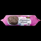 Jumbo Digestive dark chocolate cookies