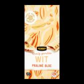 Jumbo White chocolate praline bar