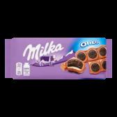 Milka Oreo sandwich chocolate tablet