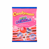 Candy Man Mac bubble chewing gum stuffing