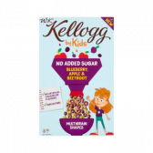 Kellogg's WK by kids sugar free blueberry, apple and beetroot