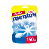 Mentos White sweet mint chewing gum family pack