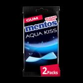 Mentos Aqua kiss Alaskan chewing gum 2-pack