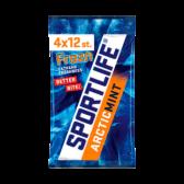 Sportlife Frozen arcticmunt suikervrije kauwgom 4-pack