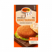 Mora Specials croquette burgers (only available within the EU)