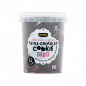 Jumbo Triple chocolate cookie dough (at your own risk)