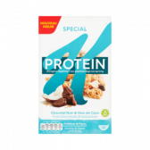 Kellogg's Special K protein dark chocolate and coconut breakfast cereals