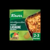 Knorr Italiaanse lasagne Bolognese wereldgerechten