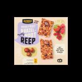 Jumbo Rood fruit en hazelnoot reep