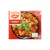 Iglo Lasagnette met sperziebonen (alleen beschikbaar binnen Europa)