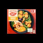 Iglo Gegrilde kipfilet met rosti en sperziebonen (alleen beschikbaar binnen Europa)