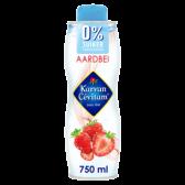 Karvan Cevitam Strawberry syrup 0% sugar