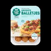 Jumbo Lekker veggie 100% plantaardige groente balletjes (alleen beschikbaar binnen Europa)