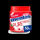 Mentos Suikervrije frisse aardbeien kauwgom