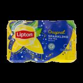 Lipton Verfrissende sparkling ijsthee met de smaak van echte thee 6-pack