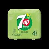 7Up Free lemon lime 4-pack