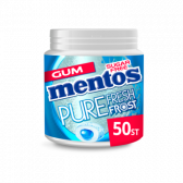Mentos Suikervrije puur fris bevroren sterke pepermunt kauwgom