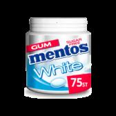 Mentos Sugar free white sweet mint chewing gum