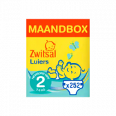Zwitsal New born mini size diapers volume pack