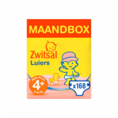 Zwitsal Maxi plus size 4+ diapers volume pack