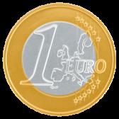 Jumbo Chocolate euro coin
