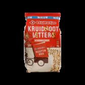 Bolletje Kruidnoot letters