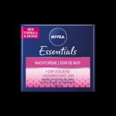 Nivea Essentials night cream + 24h nourishing