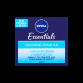 Nivea Essentials night cream + 24h hydrating