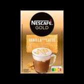 Nescafe Gold vanilla latte instant coffee