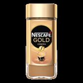 Nescafe Gold crema instant coffee