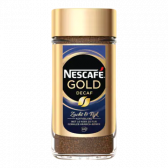 Nescafe Gold decaf instant coffee large