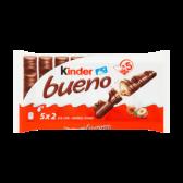 Kinder Bueno milk and hazelnuts