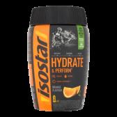 Isostar Hydrate and perform orange sportdrink