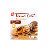 LU Time out chocolate chip cookie bars
