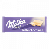Milka White chocolate tablet