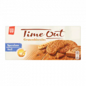 LU Time out speculaas grain biscuits