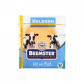 Beemster Matured 48+ cheese slices large