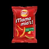 Lays Mama mia's paprika cheese crisps