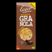 Leev Bio granola chocolade