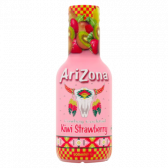 Arizona Cowboy cocktail with kiwi and strawberry