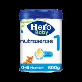 Hero Baby nutrasense zuigelingenvoeding 1 (vanaf 0 tot 6 maanden)