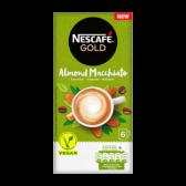 Nescafe Gold almond macchiato instant coffee