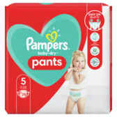 Pampers Baby dry pants size 5 (from 12 kg to 17 kg)