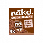 Nakd Cocoa delight fruit bar with nuts