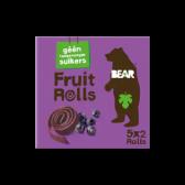 Bear Zwarte bessen fruit rollen