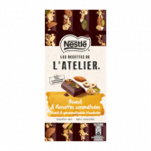 Nestle L'atelier dark chocolate bar with muesli, hazelnuts and almonds