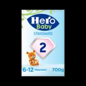 Hero Baby standaard opvolgmelk 2 (vanaf 6 tot 10 maanden)
