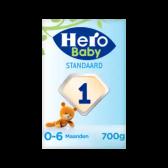 Hero Baby standaard zuigelingenvoeding 1 (vanaf 0 tot 6 maanden)