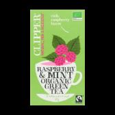 Clipper Organic green raspberry and mint tea